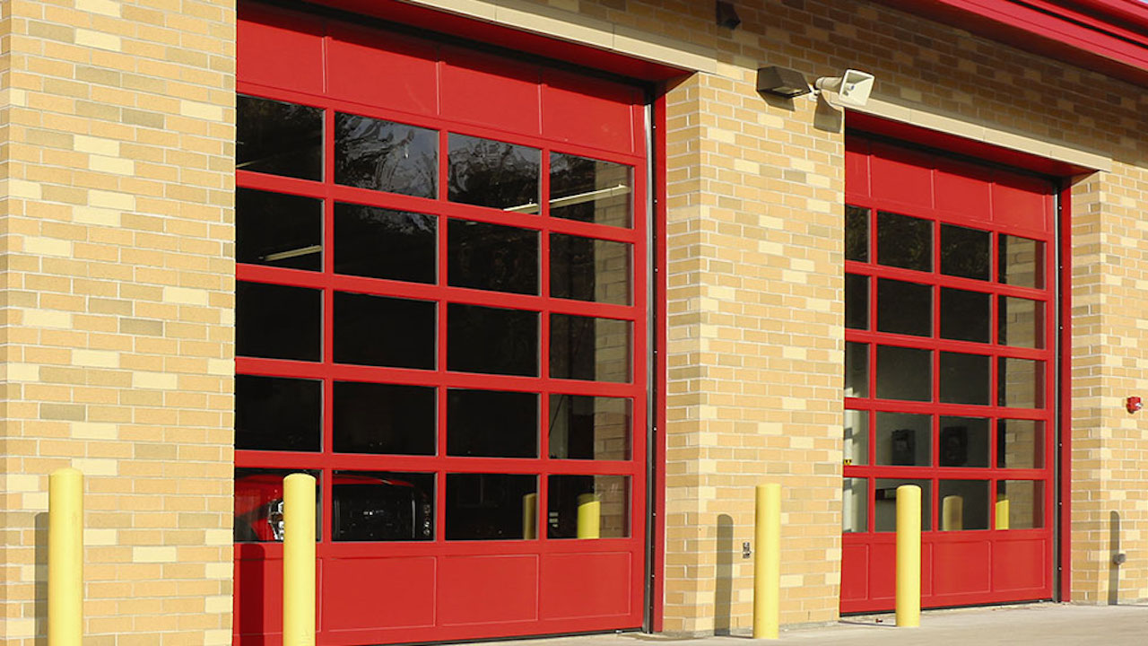 firehouse door