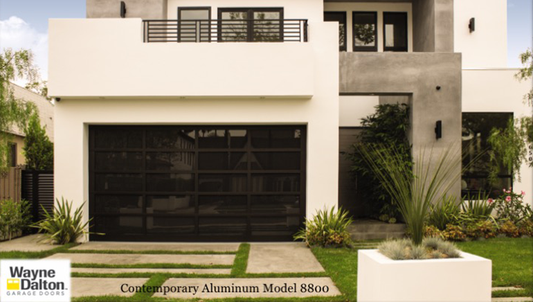 Let The Light Shine In With Luminous Glass Garage Doors
